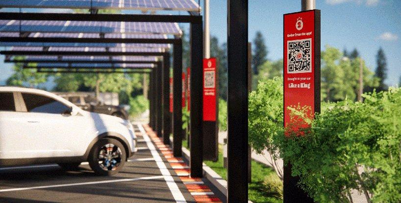 Burger King presenta su local del futuro con diseño post-pandémico sin contacto (7)