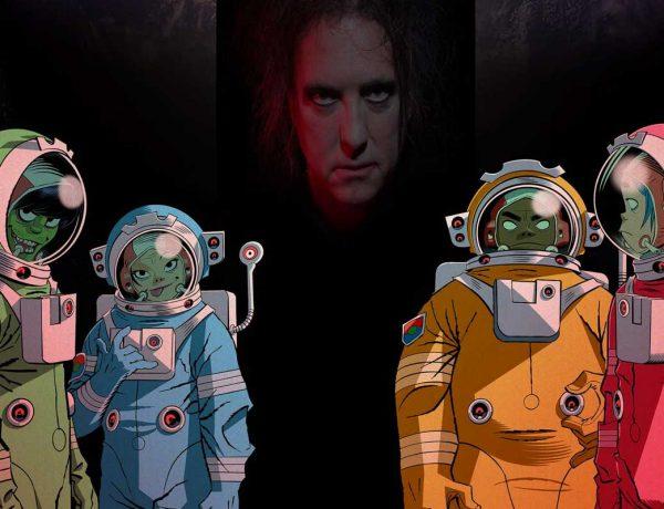 Gorillaz presenta el sexto episodio de Song Machine Strange Timez  ft Robert Smith