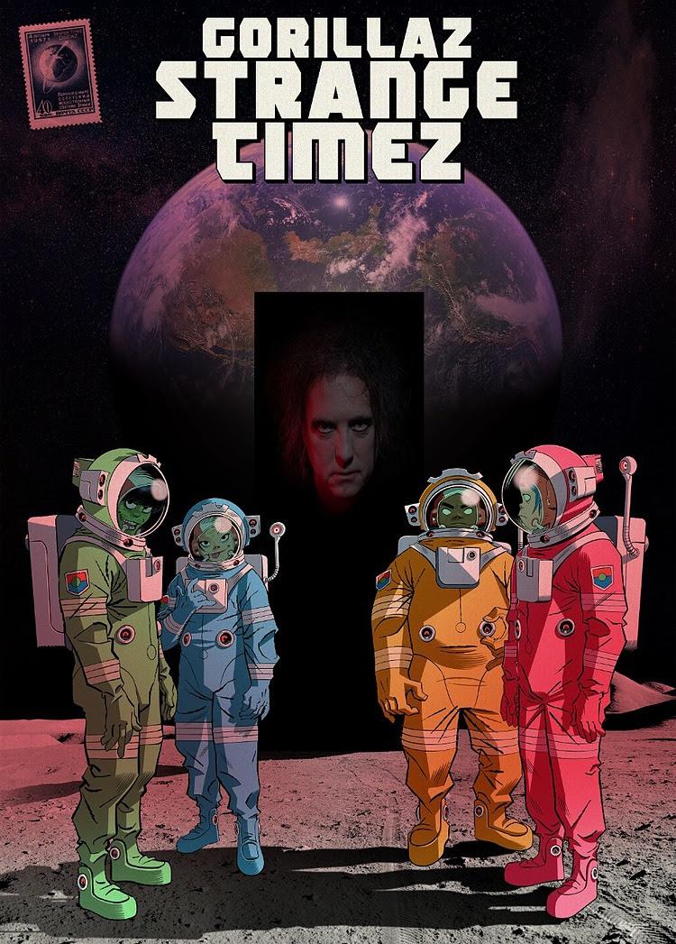Gorillaz presenta el sexto episodio de Song Machine Strange Timez ft. Robert Smith