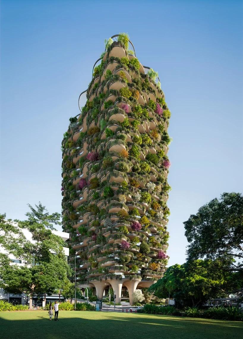 Koichi Takada y una torre en Australia que es un verdadero bosque urbano  (1)