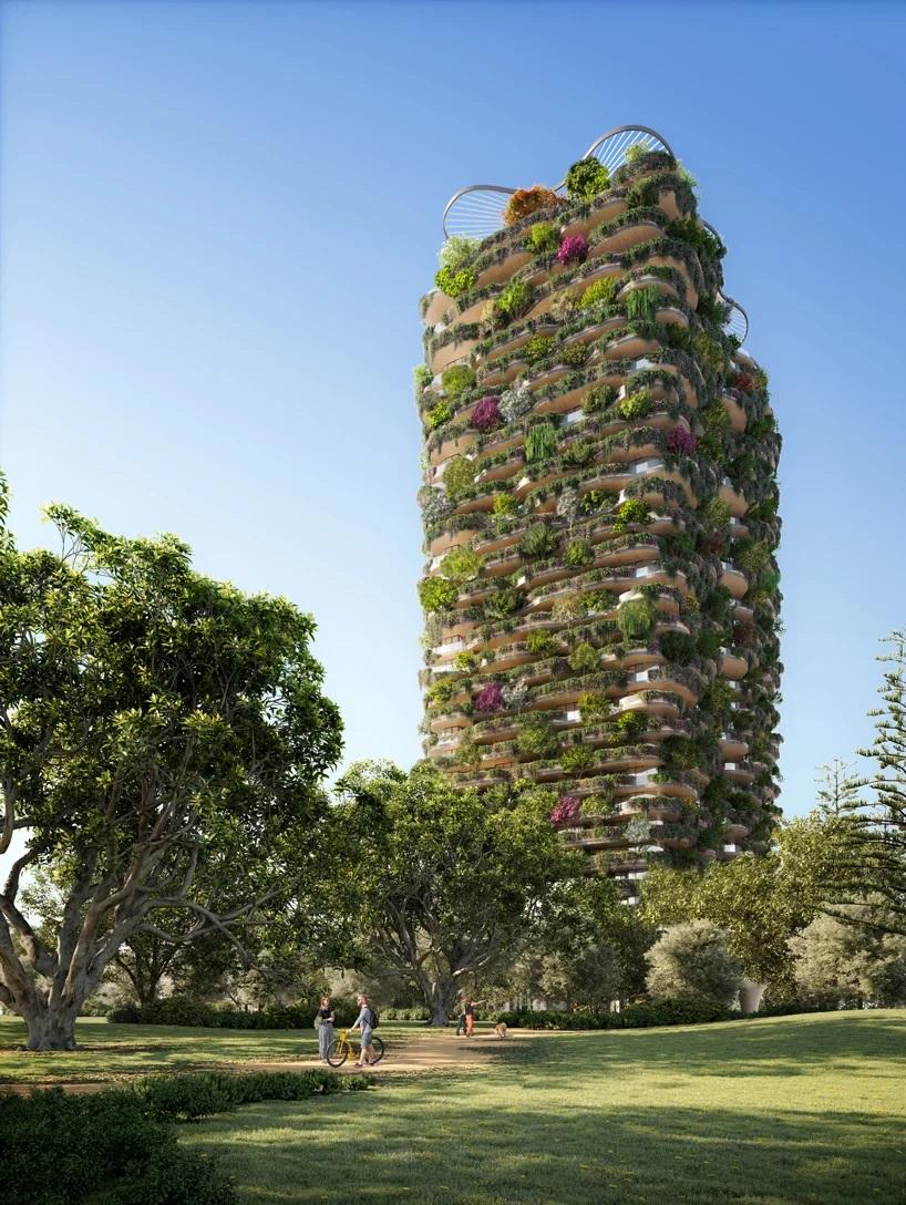 Koichi Takada y una torre en Australia que es un verdadero bosque urbano  (8)