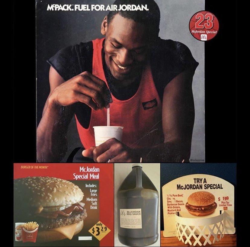 McDonald's Michael Jordan la tuviera en 1992