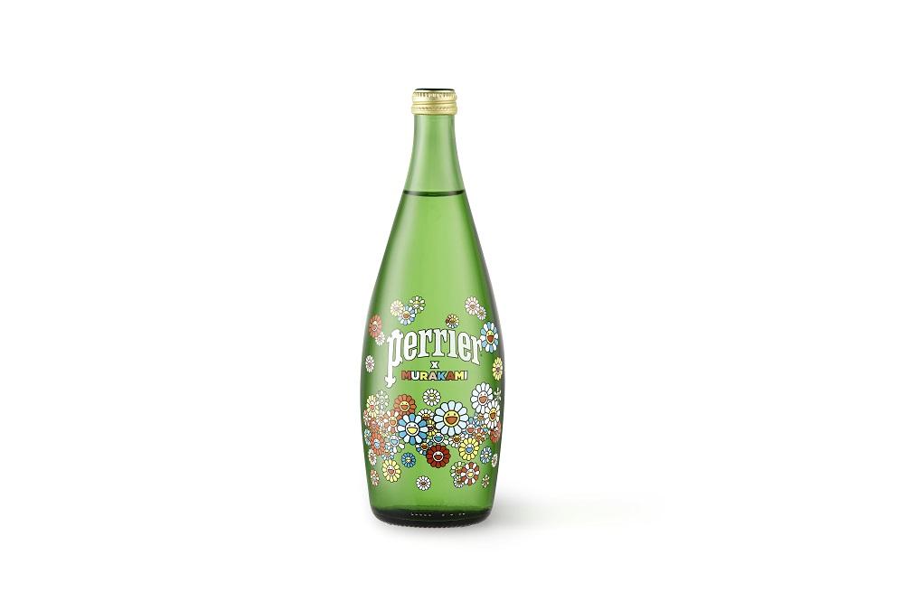 Takashi Murakami colabora con Perrier en una edición limitada de sus botellas (1)