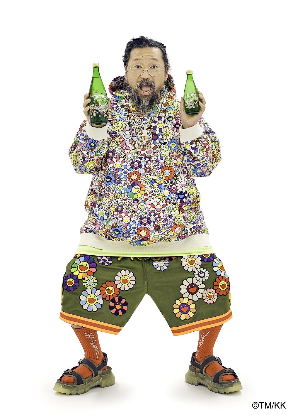 Takashi Murakami colabora con Perrier en una edición limitada de sus botellas (3)
