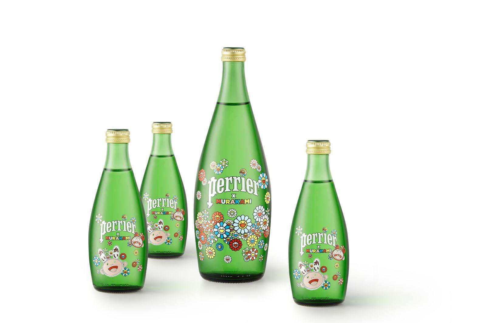 Takashi Murakami colabora con Perrier en una edición limitada de sus botellas (4)