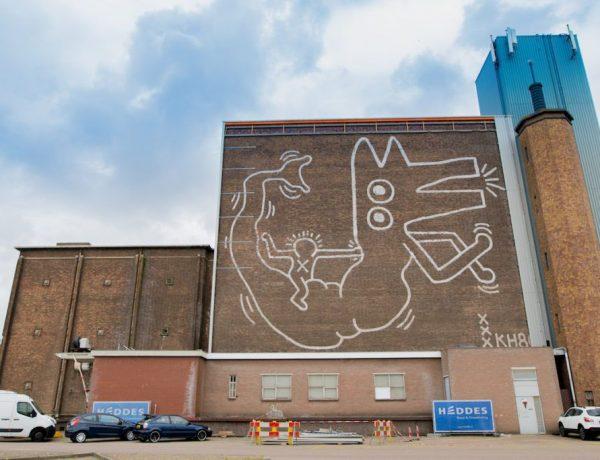 Keith-Haring-mural amsterdam loqueva