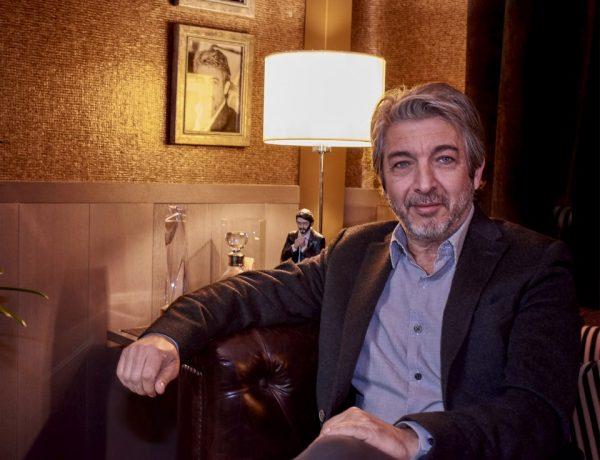 Ricardo Darín en Casa FOA 2018, en el espacio que Alejandro Dellamea diseñó inspirándose en el actor
